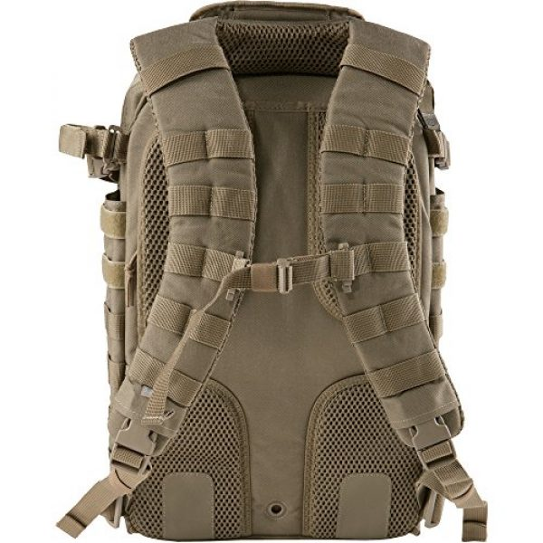 5.11 Tactical Backpack 5 5.11 Tactical All Hazards Prime Backpack, 29 Liters Capacity, Laptop Compartment, Style 56997, Sandstone