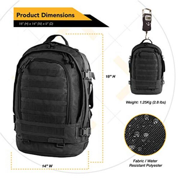 HIGHLAND TACTICAL Tactical Backpack 7 HIGHLAND TACTICAL Rumble