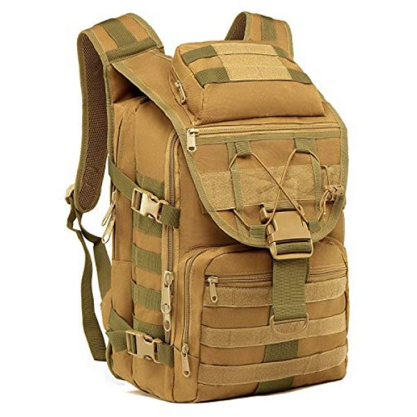T1FE 1SFE Tactical Backpack 1 T1FE 1SFE Military Tactical Backpack, Tactical Bag, Assault Pack- Molle Bug Out Bag Large