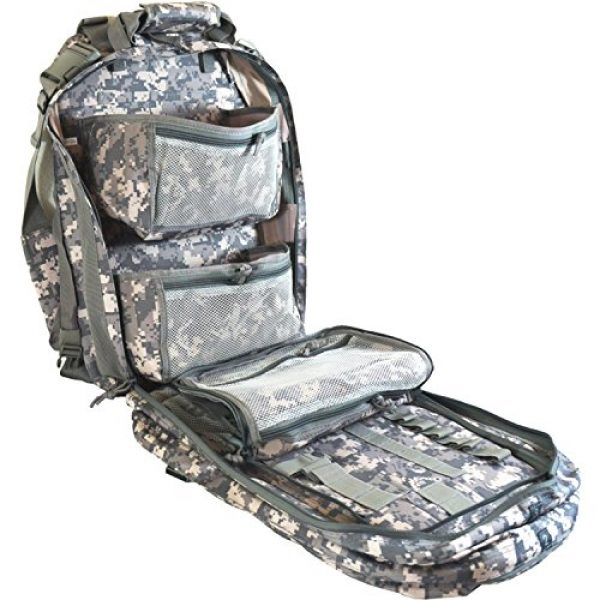 Explorer Tactical Backpack 4 Explorer Every Day Carry Tactical Medic First Responder Backpack with Multiple Pockets