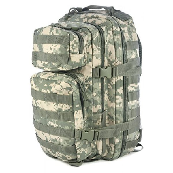 Mil-Tec Tactical Backpack 1 Mil-Tec Military Army Patrol Molle Assault Pack Tactical Combat Rucksack Backpack Bag 20L ACU Digital Camo