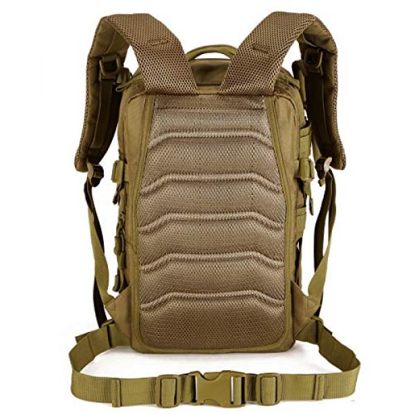 Protector Plus Tactical Backpack 2 Protector Plus Tactical Motorcycle Backpack Small Military MOLLE Cycling Daypack Army Assault Pack Bug Out Bag Hiking Camping Rucksack (Rain Cover & Patch Included)