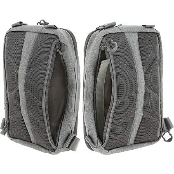 Maxpedition Tactical Backpack 7 Maxpedition Entity Tech Sling Bag (Large) 10L, Ash, One Size (NTTSLTLAS)
