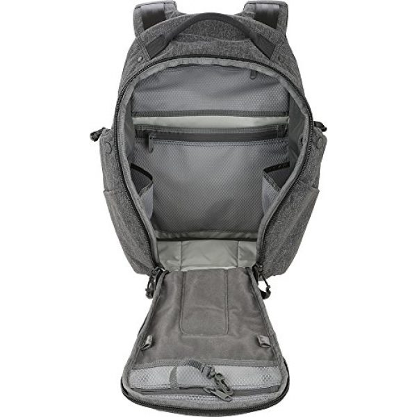 Maxpedition Tactical Backpack 4 Entity 21 CCW-Enabled EDC Backpack 21L (Charcoal)