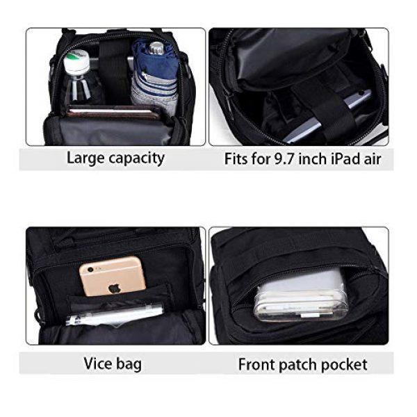 HAOMUK Tactical Backpack 4 HAOMUK Outdoor Tactical Backpack,Military Sport Bag Pack Shoulder Backpack
