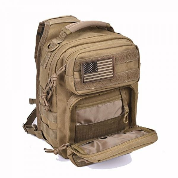REEBOW GEAR Tactical Backpack 4 Tactical Sling Bag Military Sling Backpack Pack Small Range Bags