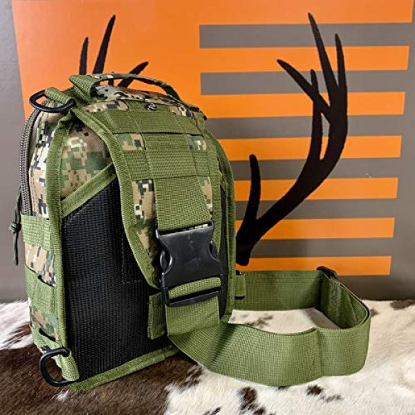 EAST TN. OUTFITTERS ACCURACY MATTERS Tactical Backpack 5 East TN. Outfitters Tactical Sling Bag with Holster Conceal Carry Shoulder Mens Bible Diaper Pack EDC Hunting Fishing Hiking