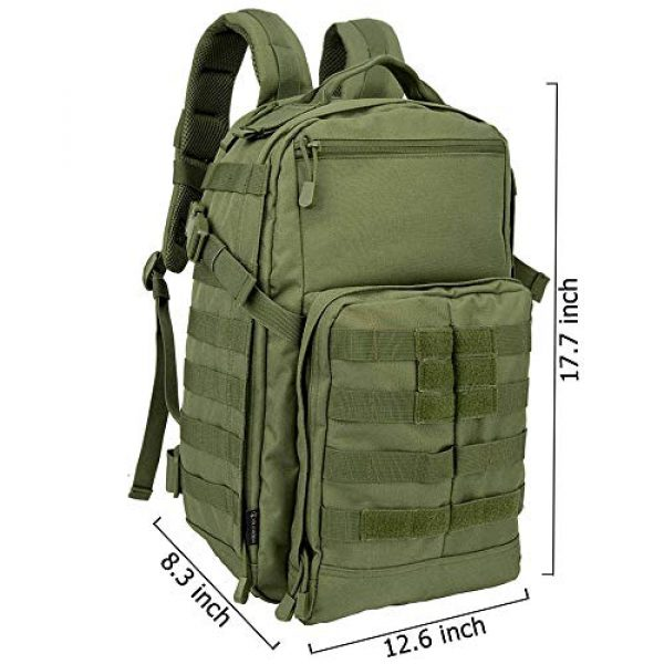 OLEADER Tactical Backpack 2 OLEADER Tactical Backpack Military Army Backpack for Hunting/Hiking/Traveling/Outdoor Middle size 30L