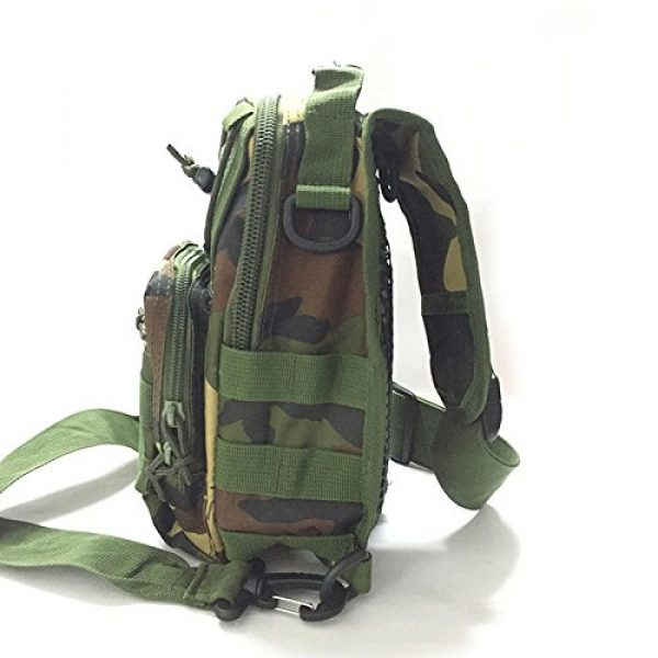 ATAIRSOFT Tactical Backpack 3 ATAIRSOFT Multi Colors Outdoor Tactical MOLLE Sling Pack Chest Pack