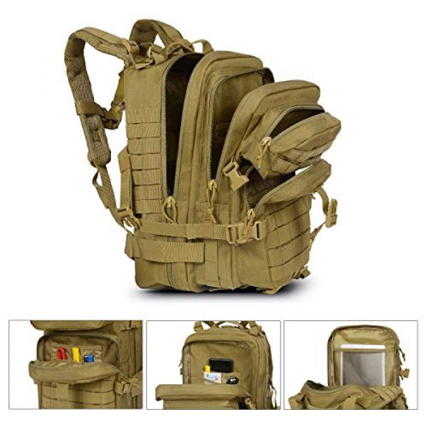 SunsionPro Tactical Backpack 2 SunsionPro Military Backpack for Tactical Hunting Trekking or Outdoor Daily use 43L