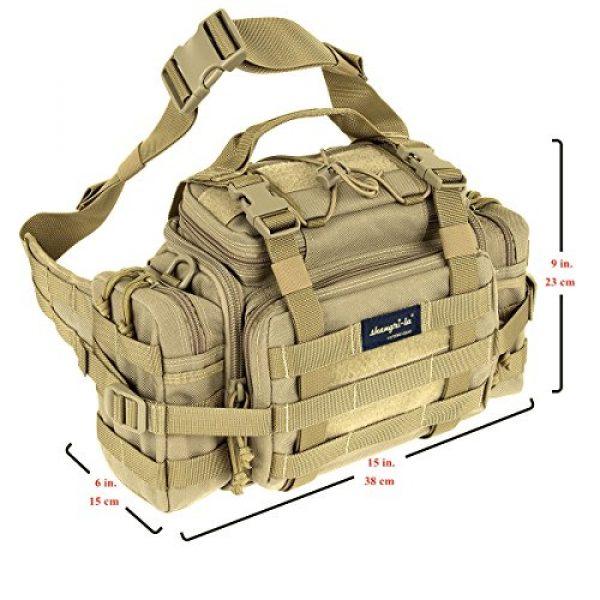 SHANGRI-LA Tactical Backpack 5 SHANGRI-LA Tactical Range Bag Outdoor Sling Backpack Hiking Fanny Waist Pack