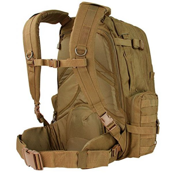 Condor Tactical Backpack 2 Condor Outdoor Products 3 Day Assault Pack, Coyote Brown