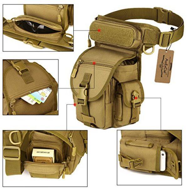 ArcEnCiel Tactical Backpack 4 ArcEnCiel Leg Bag Tactical Military Drop Waist Thigh Hip Fanny Pack Tool Gear Pouch