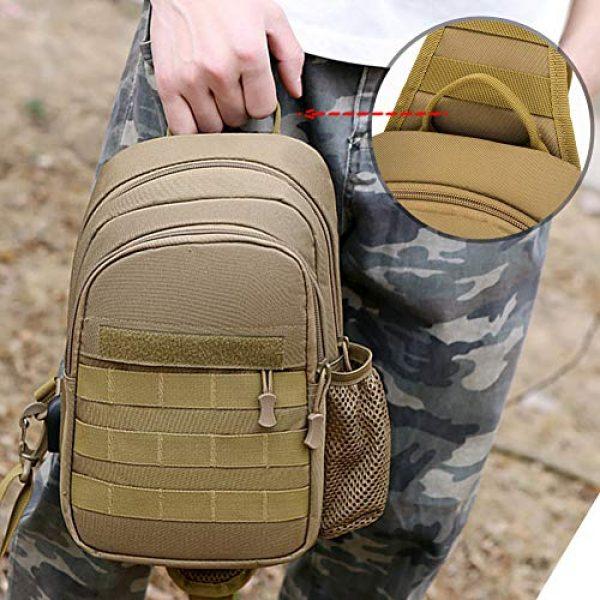 TEGOOL Tactical Backpack 4 Tactical Sling Bag,Chest Shoulder Small Backpack,Casual Satchel Day Pack