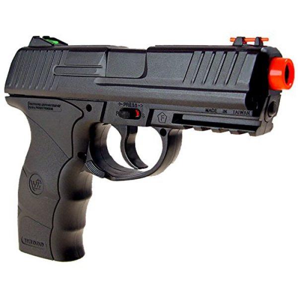 WG Airsoft Pistol 4 WG model-4303 w3000 full metal co2 non-blowback pistol/black(Airsoft Gun)