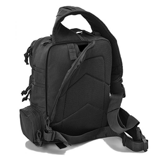 REEBOW GEAR Tactical Backpack 6 REEBOW Tactical Sling Bag Pack Military Sling Backpack Assault Range Bag
