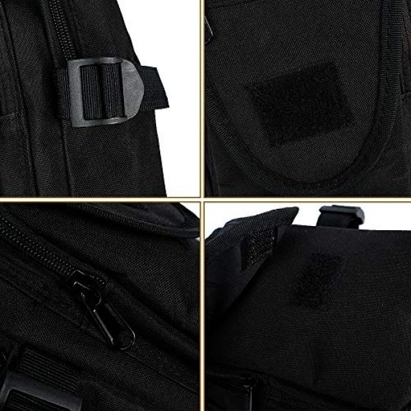 Saigain Tactical Backpack 5 Saigain Sling Bag Shoulder Backpack Crossbody Small Chest Daypack for Hiking Travelling Cycling Men Women