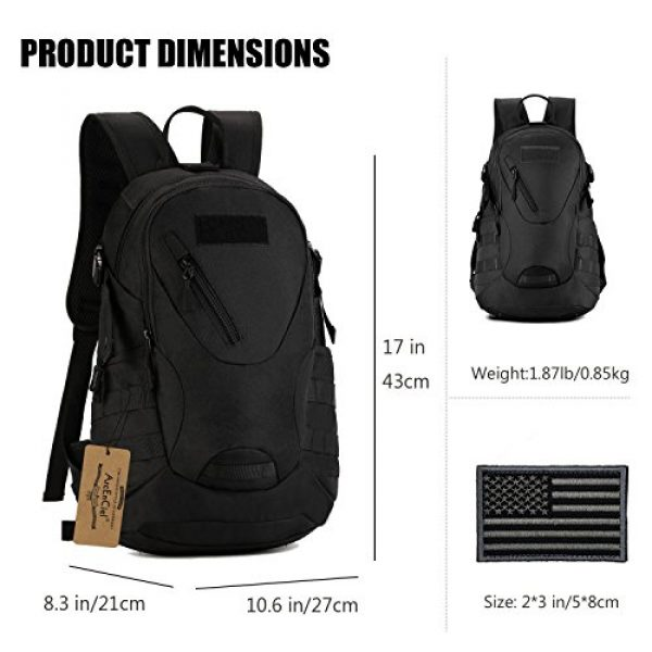 ArcEnCiel Tactical Backpack 4 ArcEnCiel Motorcycle Backpack Tactical Military Bag Army Assault Pack with Patch