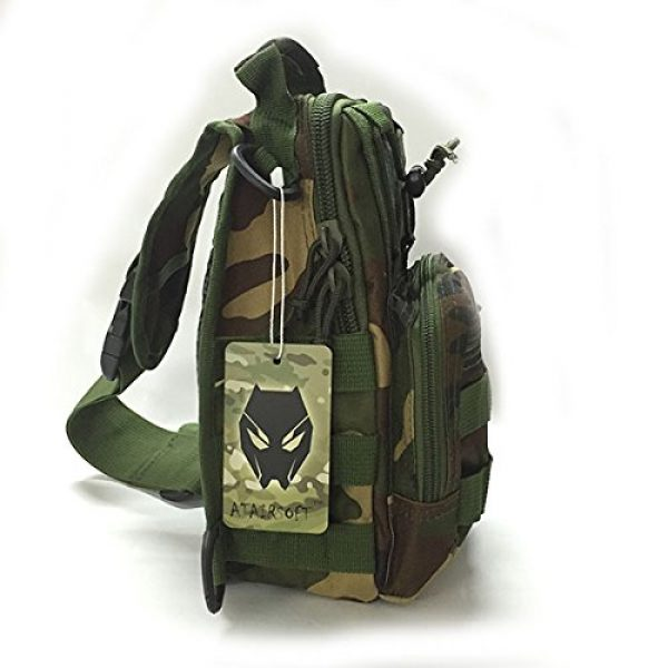 ATAIRSOFT Tactical Backpack 2 ATAIRSOFT Multi Colors Outdoor Tactical MOLLE Sling Pack Chest Pack