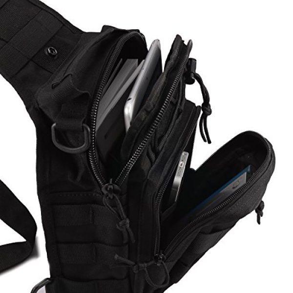 Novemkada Tactical Backpack 5 Tactical Shoulder Bag,1000D Outdoor Military Sling Daypack Backpack