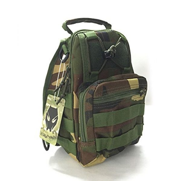 ATAIRSOFT Tactical Backpack 4 ATAIRSOFT Multi Colors Outdoor Tactical MOLLE Sling Pack Chest Pack