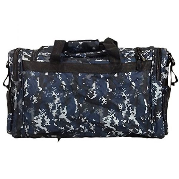 "Nexpak Tactical Backpack 4 Nexpak 26"" 3800cu.in Tactical Duffel Range Backpack TFBP126 DMBK (Navy Blue) Digital Camouflage"
