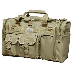 """Nexpak Tactical Backpack 1 Nexpak 18"""" 1200 cu.in. Tactical Duffle Military Molle Gear Shoulder Strap Range Bag TAN"""