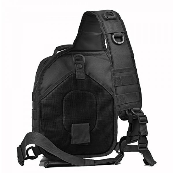 REEBOW GEAR Tactical Backpack 5 REEBOW GEAR Tactical Sling Bag Pack Military Rover Shoulder Sling Backpack Small