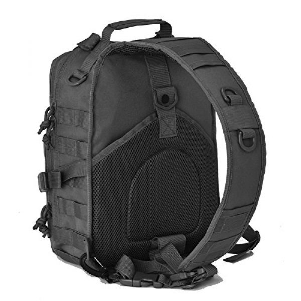 Gowara Gear Tactical Backpack 3 Gowara Gear Tactical Sling Bag Pack Military Backpack Range Bags Black