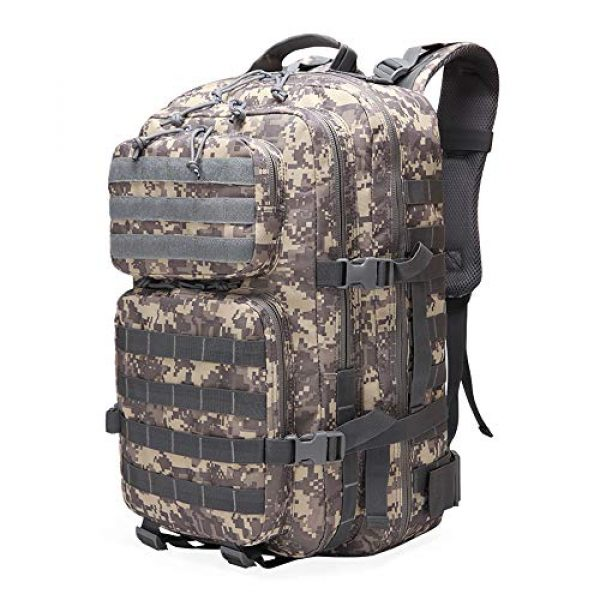 Suoki Tactical Backpack 1 Suoki 45L Molle Rucksack Outdoor Bug Out Bag Hiking Camping Backpack for Men Women