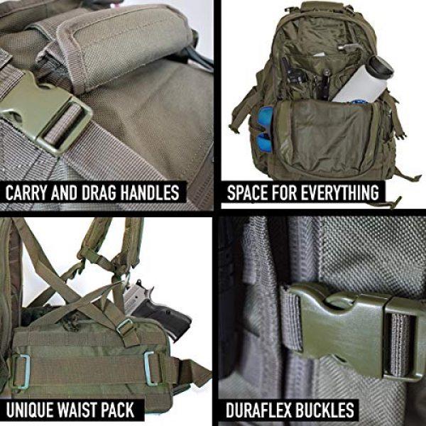 """Explorer Tactical Backpack 6 Explorer 22"""" Waist Gun PouchesTactical Backpack"""