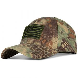 IronSeals  1 IronSeals KX6 Men Mesh Tactical Cap Sport Baseball Military Camouflage Sun Hat Cap