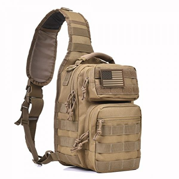 REEBOW GEAR Tactical Backpack 1 Tactical Sling Bag Military Sling Backpack Pack Small Range Bags