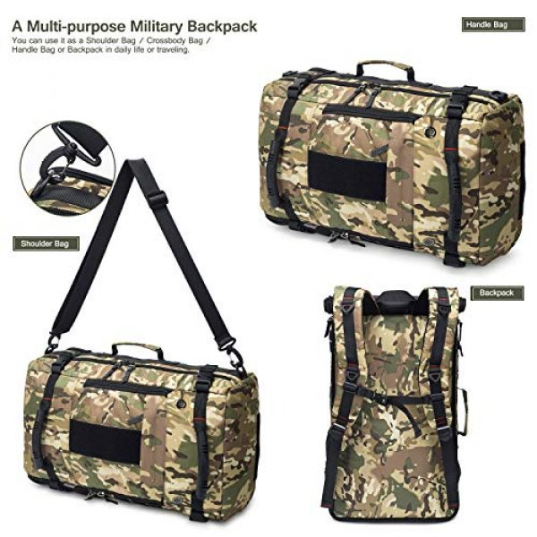 Mardingtop Tactical Backpack 6 Mardingtop 40L Duffle Backpack Molle Travel Sports Gym Carry-On Bag for Men Women
