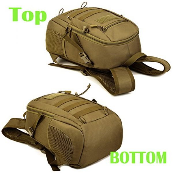 CREATOR Tactical Backpack 3 12L Tactical Backpack MOLLE Military Daypack Travel Bag for Hunting