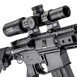 BARSKA Rifle Scope 1 BARSKA New Rifle Scope Red/Green Illuminated (1-4x24mm)