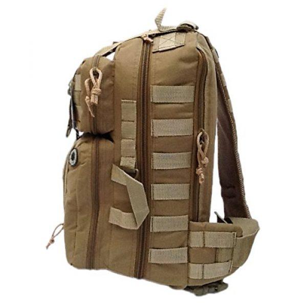 "Nexpak Tactical Backpack 4 18"" 1200cu. in. Tactical Sling Shoulder Hiking Backpack TL318 TAN"