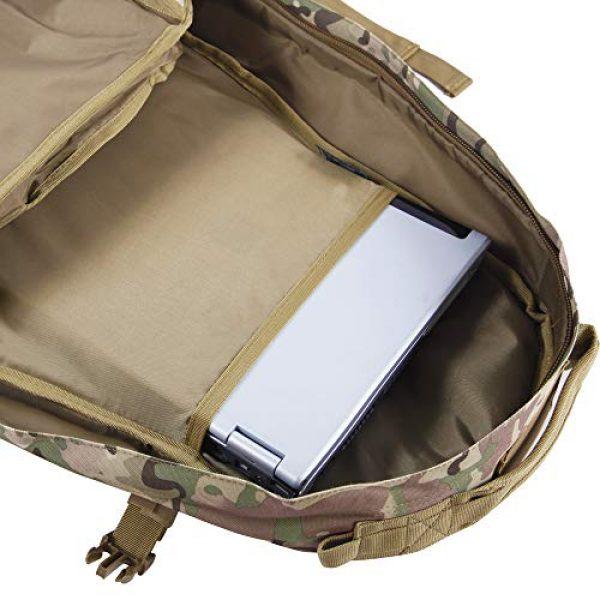 HIGHLAND TACTICAL Tactical Backpack 4 Highland Tactical Men's Basecamp Heavy Duty Tactical Backpack
