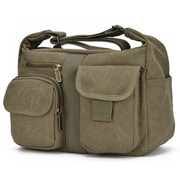 enknight Tactical Backpack 2 ENKNIGHT Women Shoulder Bags Casual Handbag Travel Canvas Bag Messenger Sling Bag