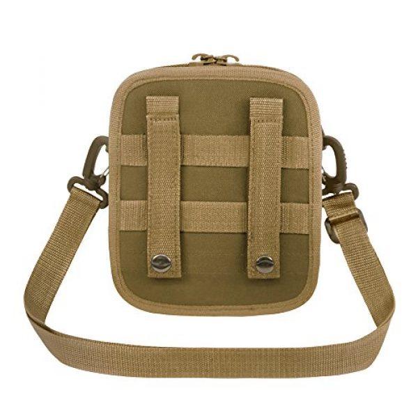 East West U.S.A Tactical Backpack 3 East West U.S.A RT520 Tactical Molle Pouch Waist Belt Utility Gadget Bag