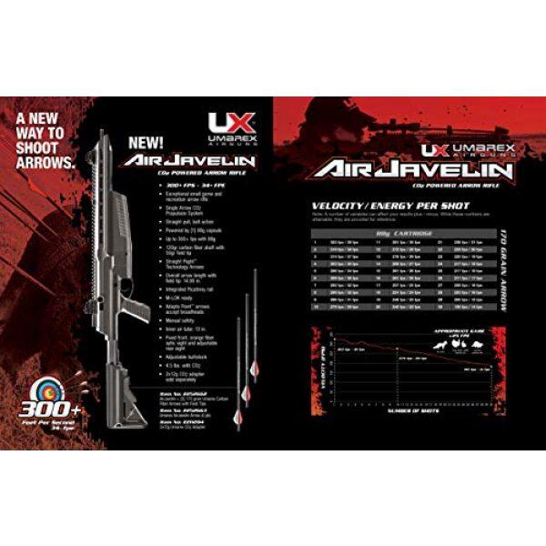 Umarex Air Rifle 6 Umarex AirJavelin Arrow Gun Air Rifle with 3 Carbon Fiber Arrows, Black