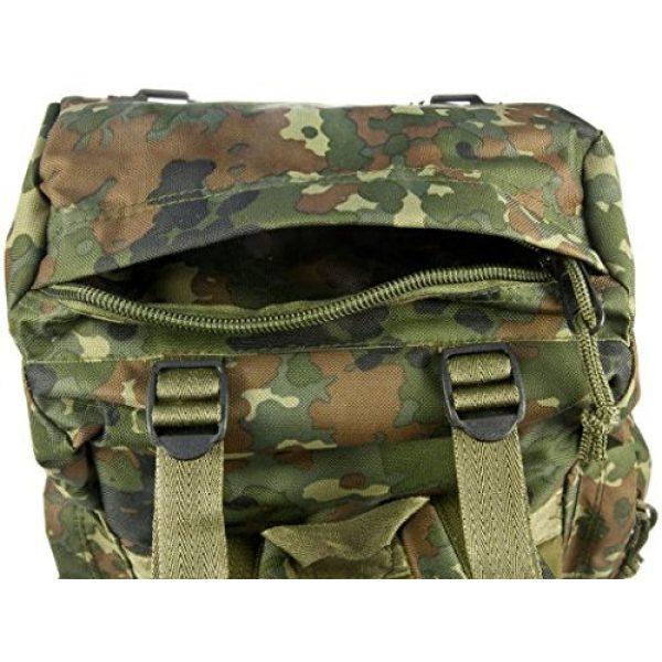 Mil-Tec Tactical Backpack 5 Mil-Tec Rucksack 35L Flecktar Camo Backpack