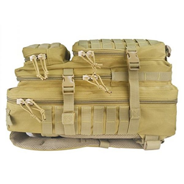 WEDO Tactical Backpack 4 Tactical Backpack for Men, Large Black Military Army Molle Bag Tactical Backpacks