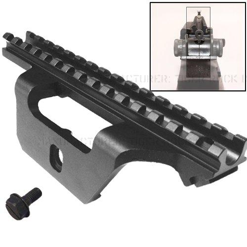 TACBRO Rifle Scope 1 Low Profile See-thru Scope Mount fit the Springfield .308 rifle like socom 16