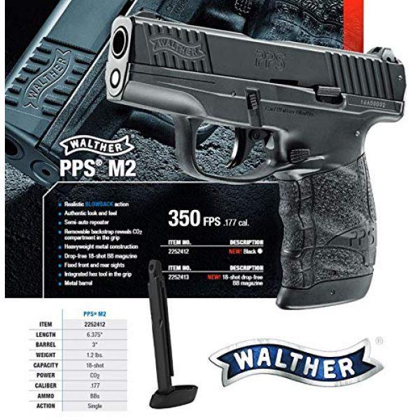 Umarex Airsoft Pistol 4 Walther PPS M2 Blowback .177 Caliber BB Gun Air Pistol