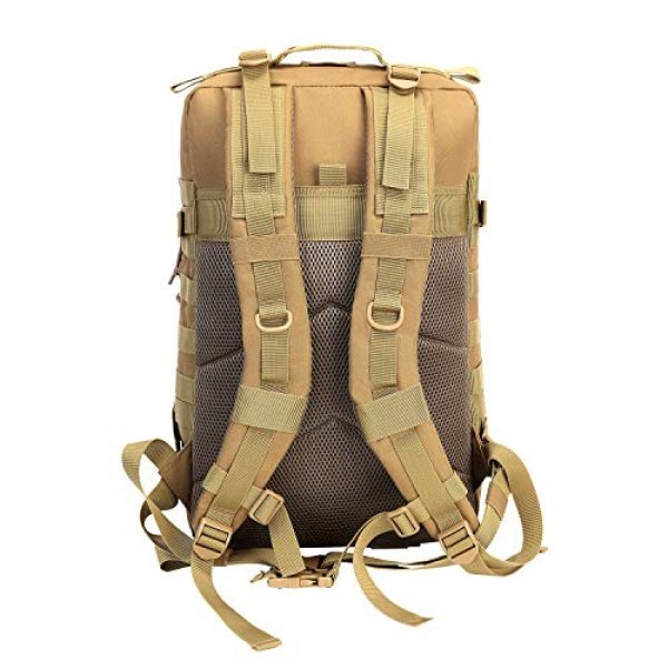 YOMEGO Tactical Backpack 4 YOMEGO Durable Tactical Backpack Travel Bug-Out Bag Great Tactical Survival Gear for Men and Women, 45L