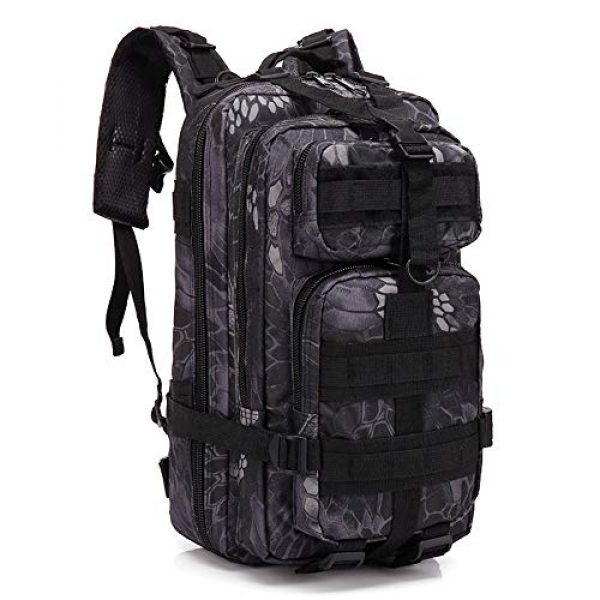VONAXO Tactical Backpack 1 VONAXO Military Tactical Backpack 30 Liters Army Molle Outdoor Hiking Hunting Rucksack Backpack