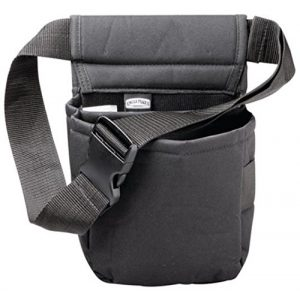 Uncle Mike's Tactical Pouch 1 Uncle Mike's Padded Cordura Nylon Shell Bag (Black, One Size)