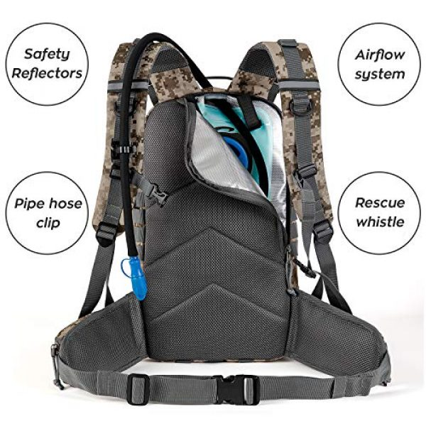 Gelindo Tactical Backpack 3 Gelindo Military Tactical Backpack, Army Molle Bag for Hunting, Camping,Hiking 35L