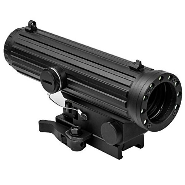 NcSTAR Rifle Scope 1 NcSTAR VISM Lio Scope-4X34mm with Nav Led Lights/QR Mount